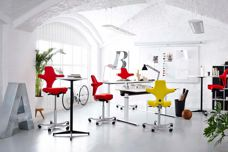 Capisco chair from Scandinavian Business Seating