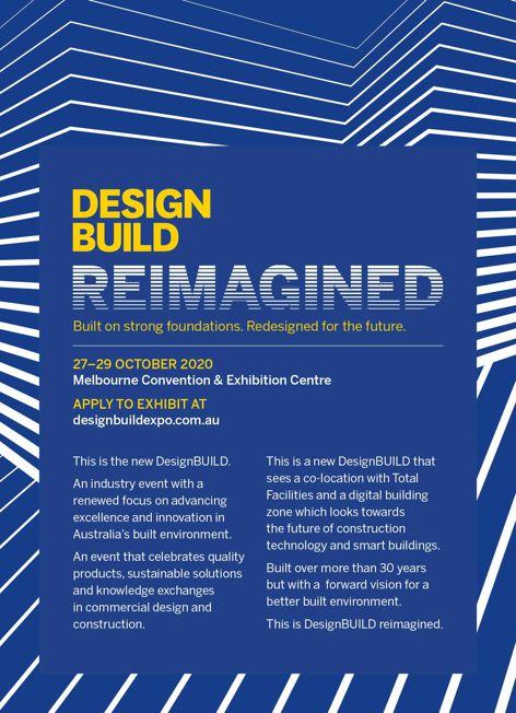 DesignBuild 2020 in Melbourne
