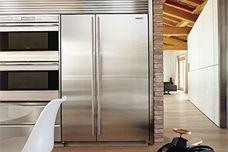 Side by Side fridge/freezer by Sub-Zero