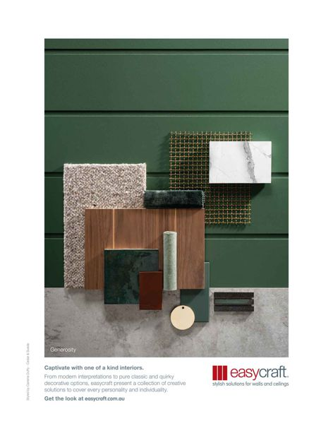 Materials palettes by Easycraft