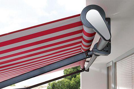 The organically designed Folding Arm Awning won the 2012 Red Dot Design Award.