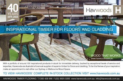 Timber floors and cladding from Havwoods