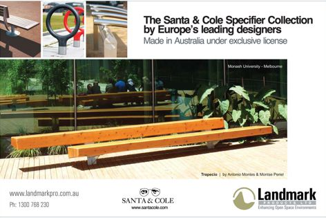 Santa & Cole Specifier Collection outdoor furniture