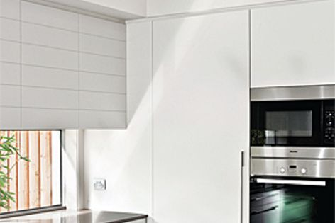 Alto (pictured) and Aria are new to Gyprock's collection of stylish cornice profiles.