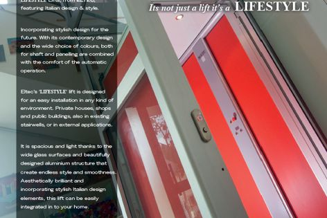Lifestyle lifts by Master Lifts