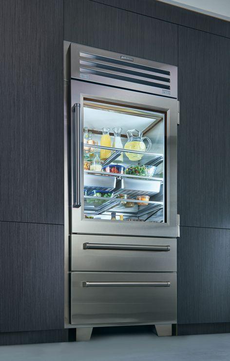 Pro 36 refrigerator and freezer by Sub-Zero