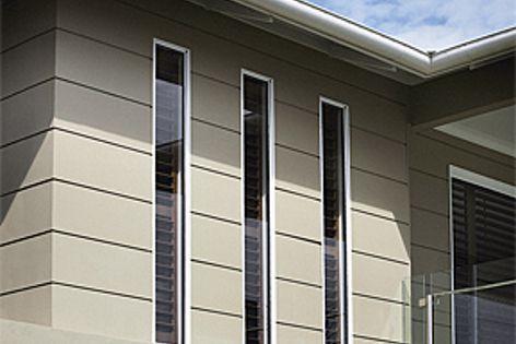 Scyon Stria cladding can be installed by a carpenter and painted on the same day.