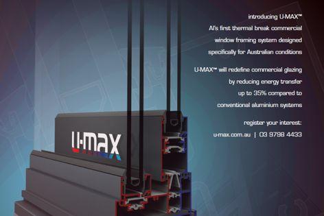 U-max thermal break framing