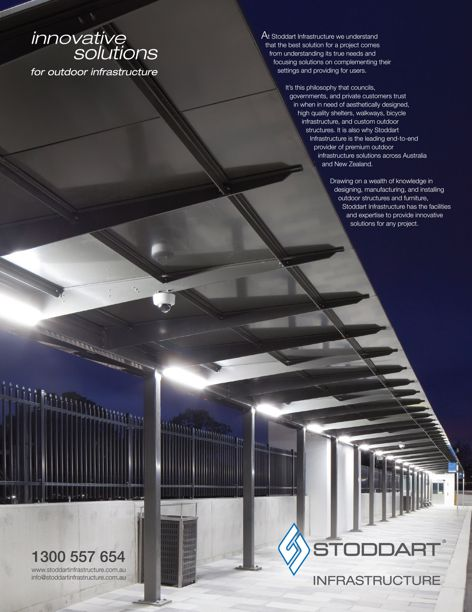 Outdoor infrastructure solutions by Stoddart
