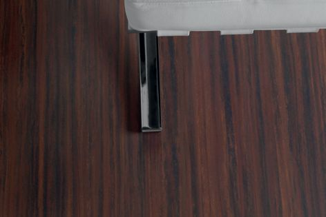 The striated effect on Forbo's Artoleum mimics a natural timber grain.