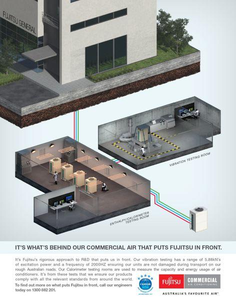 Airconditioning from Fujitsu General