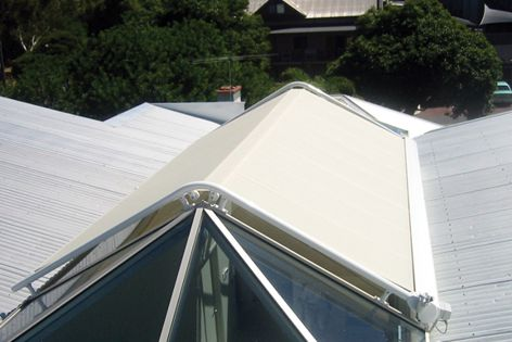 Markilux awnings for curved conservatories