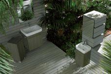 Damo Senso Square bathroom range