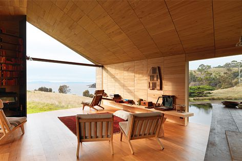 Shearer's Quarters by John Wardle Architects. Photography: Trevor Mein.
