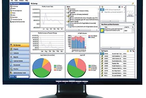 Synergy manages projects, budgets, people, costs, billing, timesheets, reporting, documents and more.