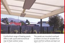 Comfortline outdoor heating panels