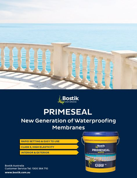 Primeseal waterproofing from Bostik