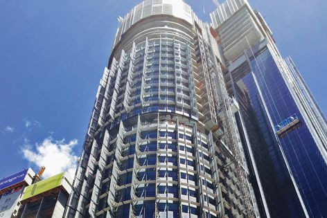 Tower 3 at Barangaroo South, Sydney, by Rogers Stirk Harbour and Partners incorporates Horiso shading control systems.