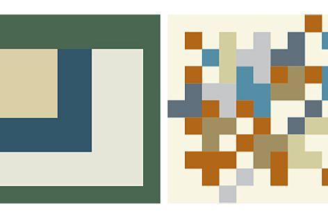 Kingspan's four new colour ranges - the High-Performance range, left; the Metallic range, right.