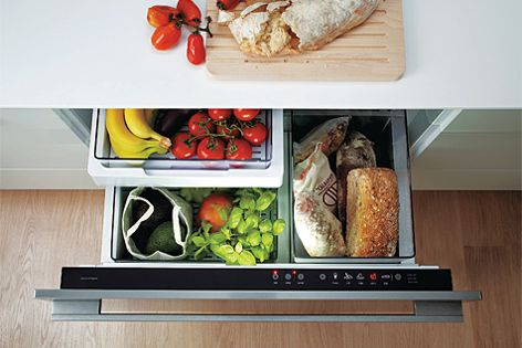 The Izona CoolDrawer can be configured for any home or office environment.