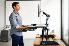 Sit-stand desk solutions by Varidesk