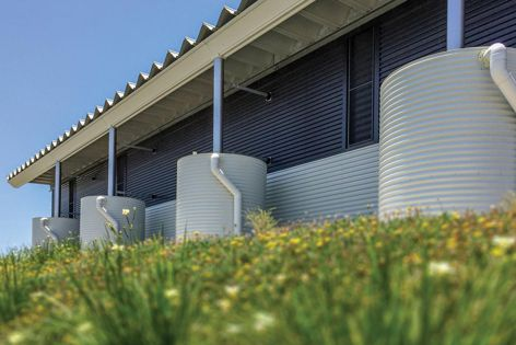 Kingspan installed 14 made-to-measure tanks at the Mazda Distribution Centre at Brisbane Airport.