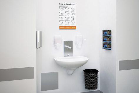 Type B Handwash Station Kits from Enware