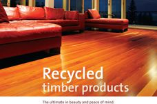 Recycled timber products