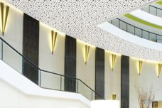 Perforated plasterboard by CSR Gyprock