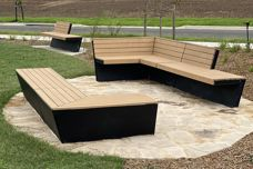 Mos Urban Oxley outdoor benches