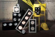 Modular downlight range