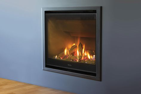 Efficiently heat the home with the AF700 gas fireplace from Escea.