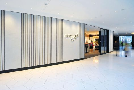 The ASA system was recently used for the Crown Gifts flagship store in Melbourne, installed by MCM Tile and Stone.