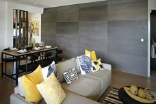 Stonini concrete panels from Di Emme
