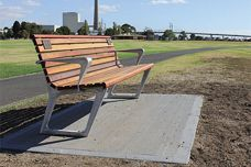 Outdoor furniture from Furphy Foundry