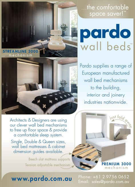 Wall beds from Pardo