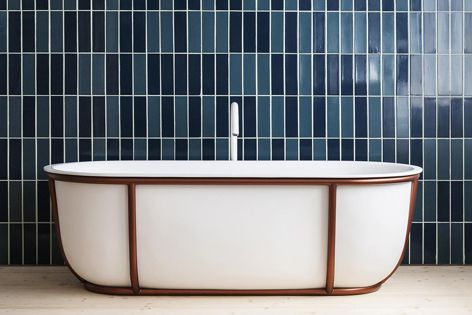 The Cuna bath by Spanish architect and designer Patricia Urquiola.