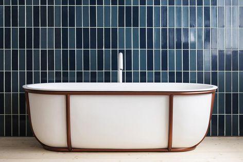 The Cuna bath by Spanish architect and designer Patricia Urquiola.