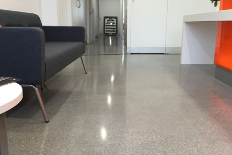Ventura can be applied over existing floors, inside and out, to create a modern, hard-wearing surface.