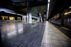 Concourse paving