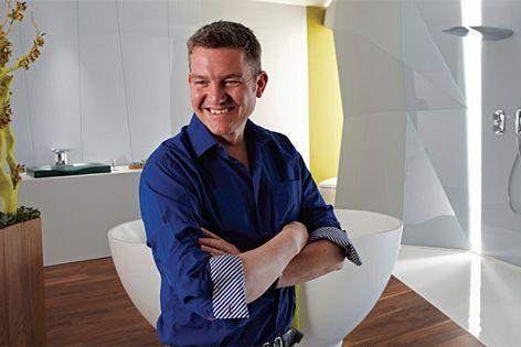 Kohler new product design director Mark Bickerstaffe.