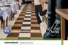 Marmoleum Global 3 Dual tiles