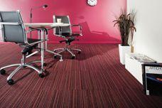 EC Modular carpet tiles with EComfort