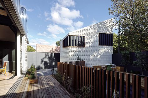 Little Brick Studio by MAKE Architecture, shortlisted in the Outdoor category.