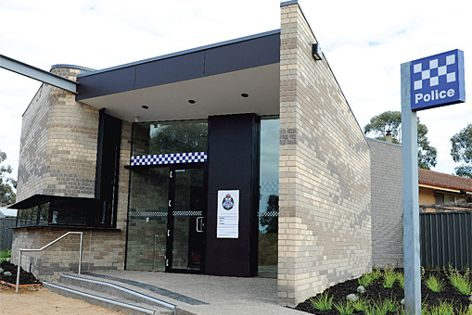 Adbri Masonry's Architectural brick range has been used on this police station.