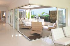 Alfresco living with stacker and bifold doors
