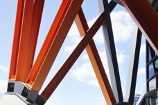 Firetex FX6002 coating for structural steel