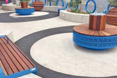 Customized street furniture by Furphy Foundry