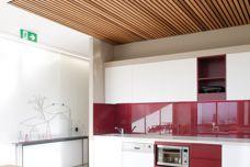 Screenwood ceiling panels