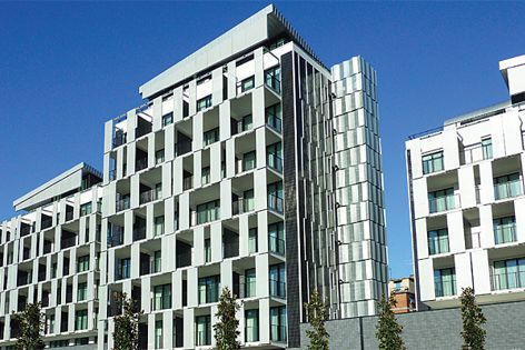 Texo facades from Architectural Textile Systems